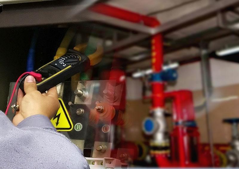 电气设备火灾检测